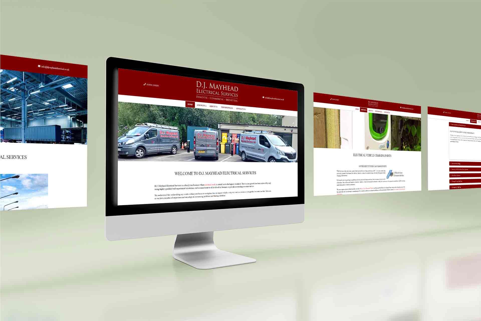 Web Design For Electricians