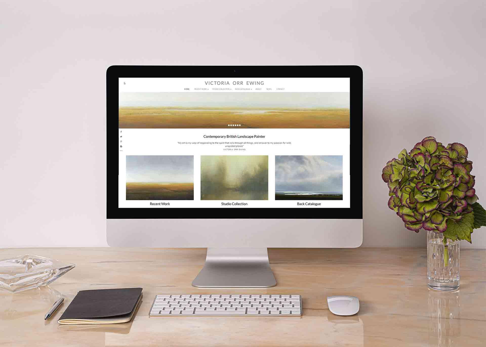 Web Design For Artists
